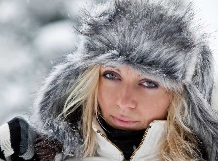 Ubierz swoją twarz na zimę