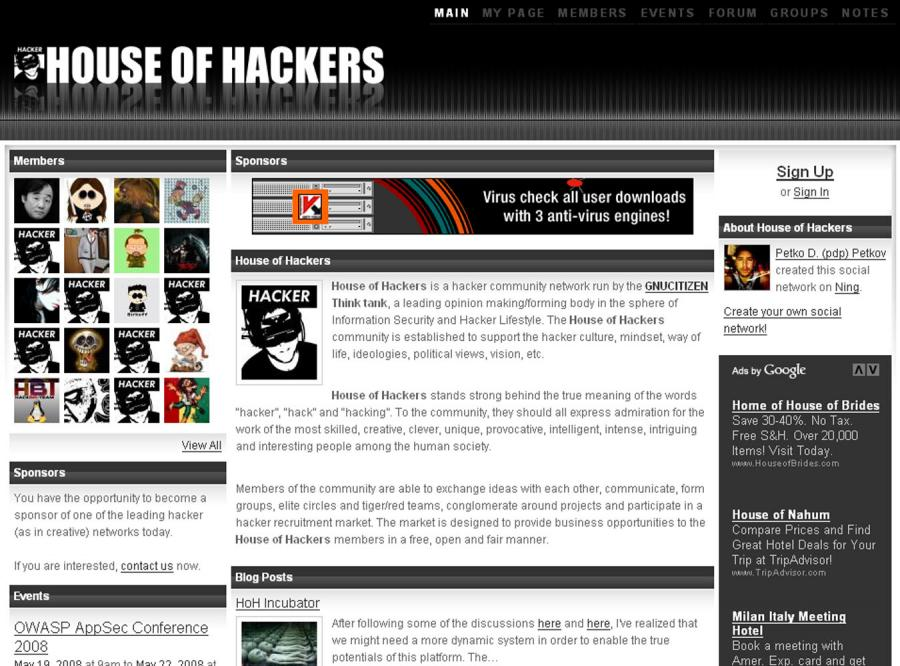 Powstał portal społecznościowy dla hakerów