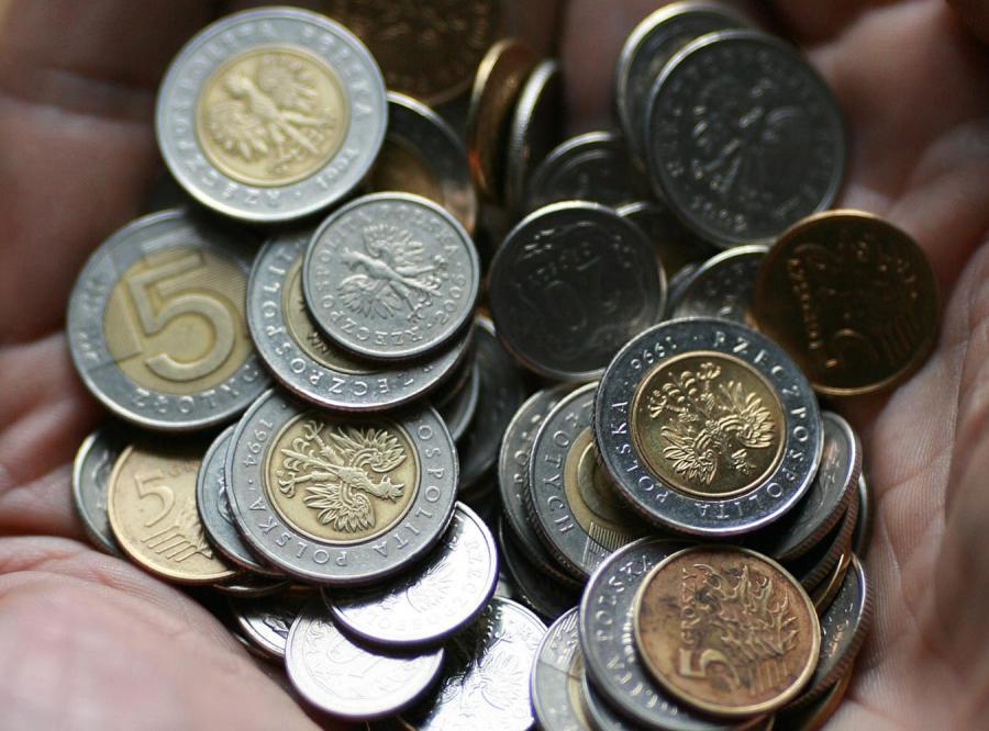W Polsce jest coraz mniej drobnych monet
