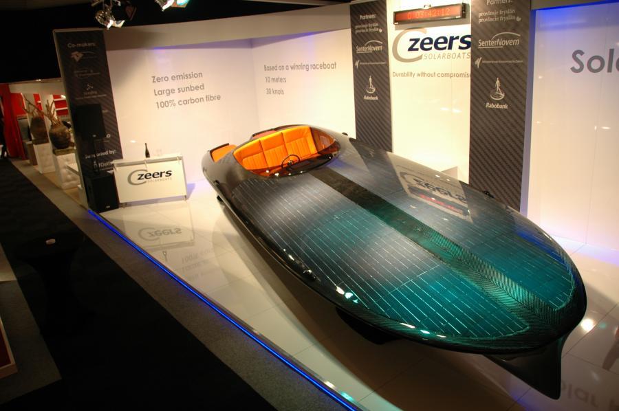 Motorówka napędzana energią słoneczną