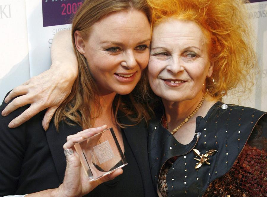 Projektantki  Stella McCartney i Vivienne Westwood
