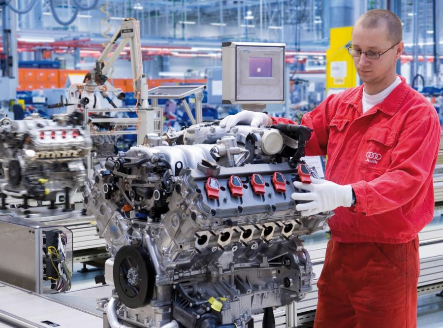 Audi wyprodukowało w 15 lat 15 milionów silników