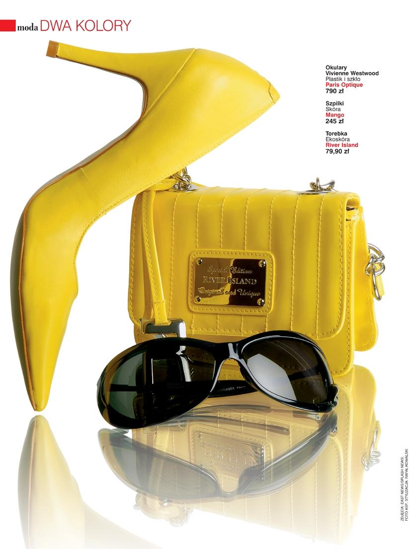 Kolor żółty idealny na lato.