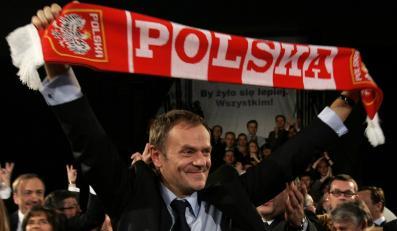 Mecze Polaków na Euro 2008 premier Donald Tusk obejrzy tylko w telewizji