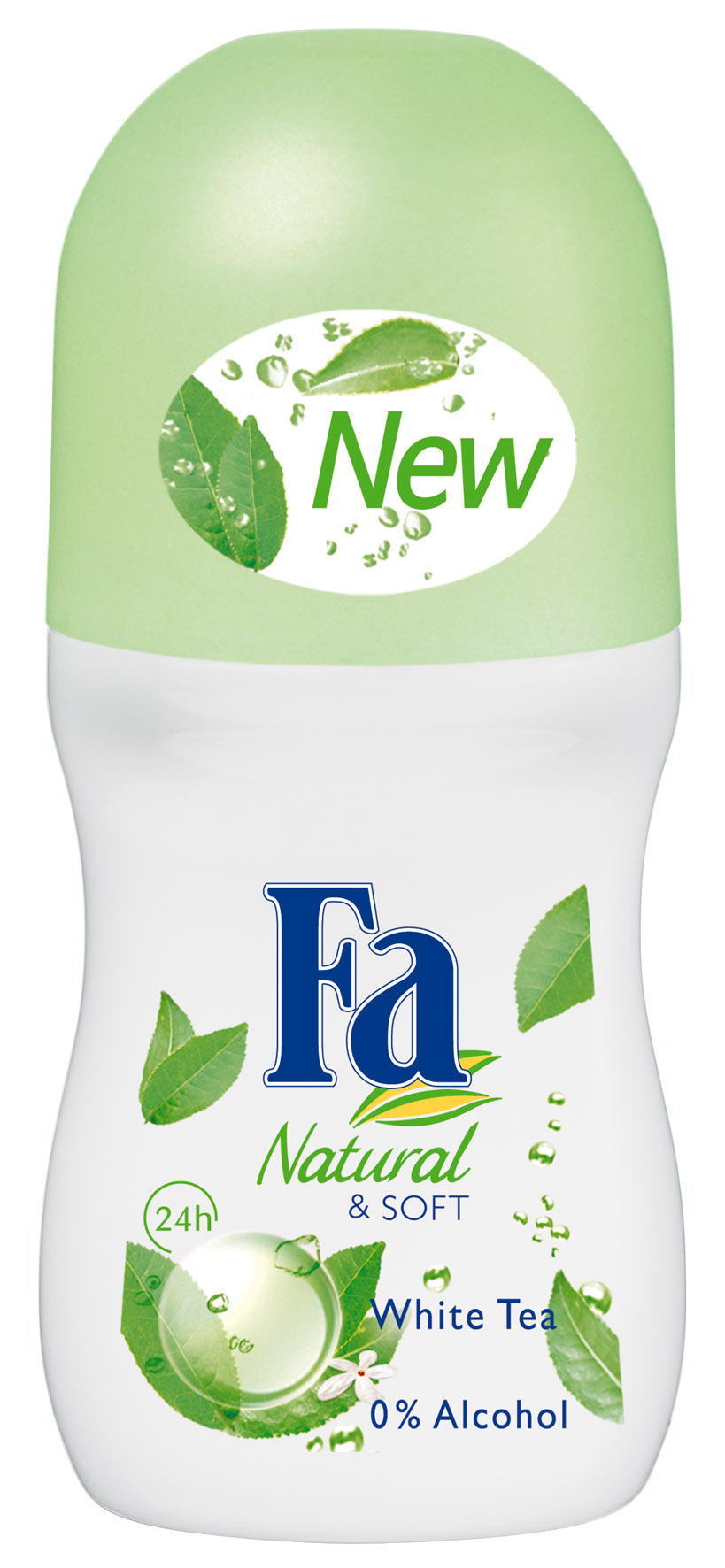 4. Fa Natural &soft, White tea, ok. 9 zł