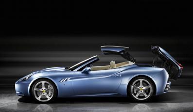 Ferrari california - tym razem bez dachu