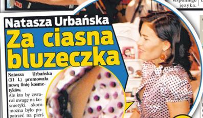 Natasza Urbańska wystąpiła na promocji kosmetyków w przyciasnej bluzce