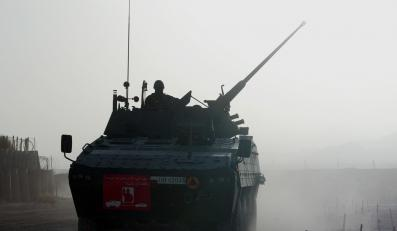 Talibowie ostrzelali polskiego Rosomaka w Afganistanie