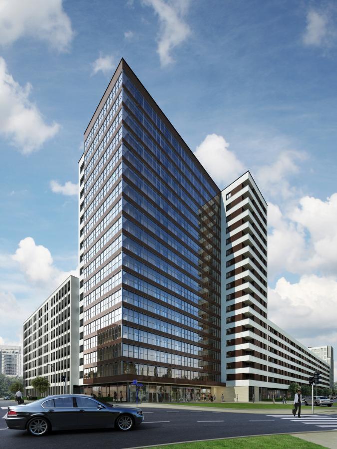 W skład osiedla Murano będzie wchodziła 60-metrowa wieża