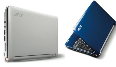Acer dosiadł się do pociągu z małymi laptopami