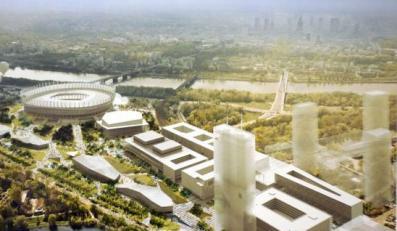 Tak będą wyglądać okolice Stadionu Narodowego