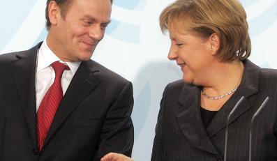 Donald Tusk chce oczarować Angelę Merkel