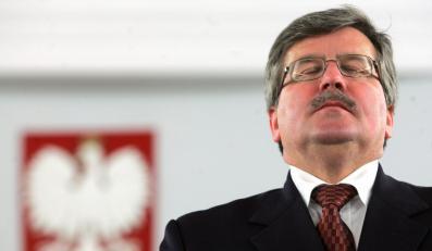 Bronisław Komorowski na prezydenta?