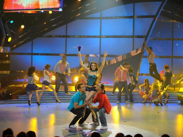 """W finale II edycji programu """"You Can Dance"""" w TVN walczyli Katarzyna Kubalska, Kryspin Hermański i Artur Cieciórski"""