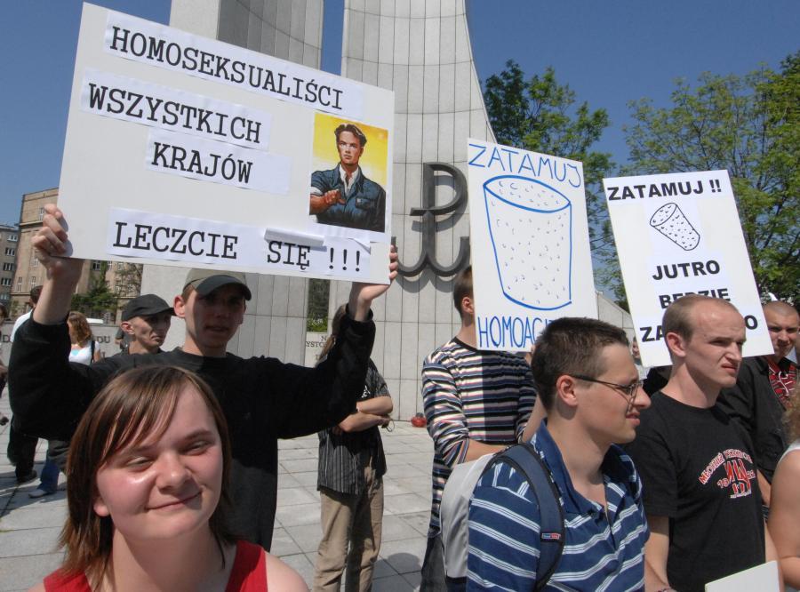 Polacy chcą zakazać gejom manifestacji