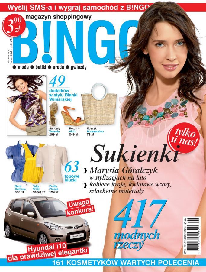 Lipcowy numer magazynu shoppingowego B!NGO już w kioskach