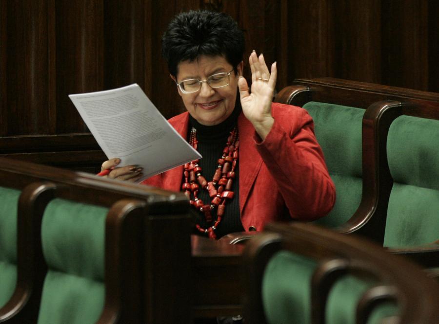 Joanna Senyszyn nie chce być posłem