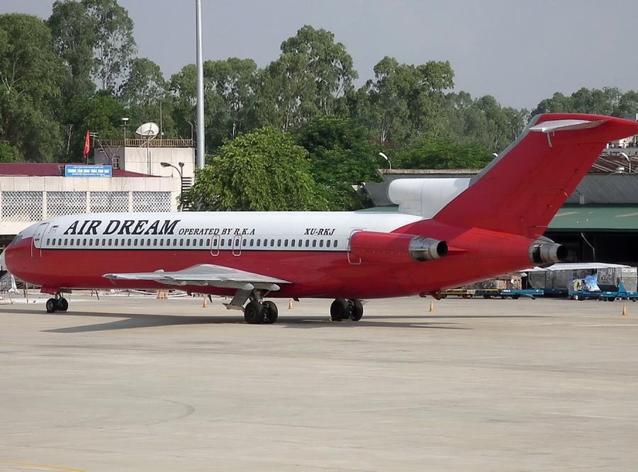 Kto zgubił boeinga 727 na wietnamskim lotnisku?