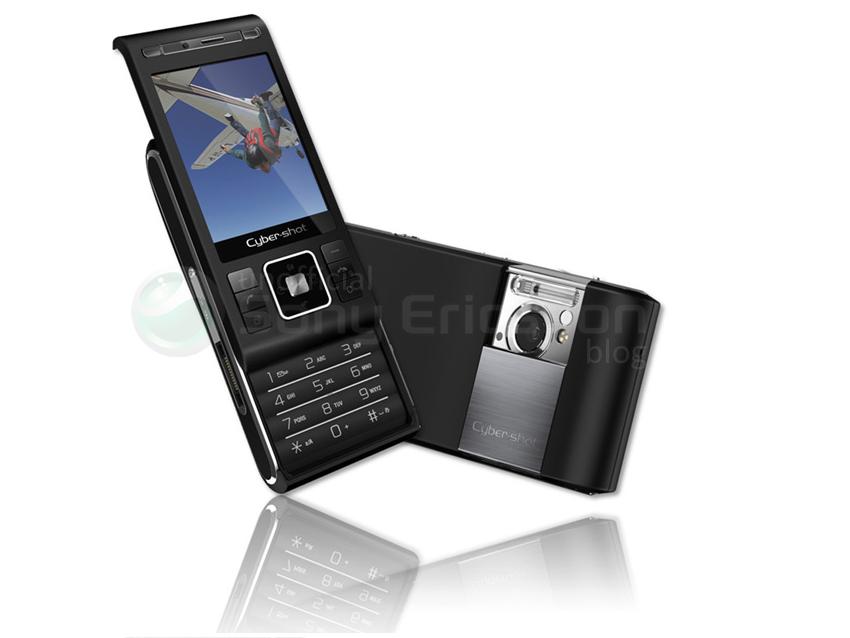 Nowy slider Sony-Ericsson z aparatem foto 8.1MPix