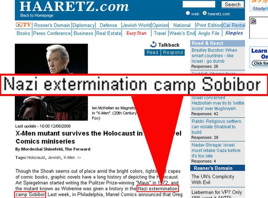 Sobibór stał się znowu nazistowskim obozem