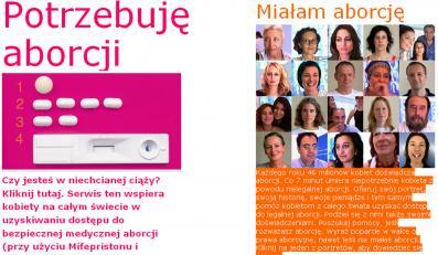 Holenderski portal oferuje aborcję przez internet
