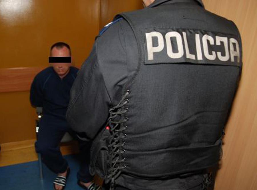 Policjantom udało się złapać jednego z oprawców, 35-letniego Dariusza Ś. ps. Śledź