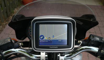 GPS do motocykla, genialny i drogi bajer