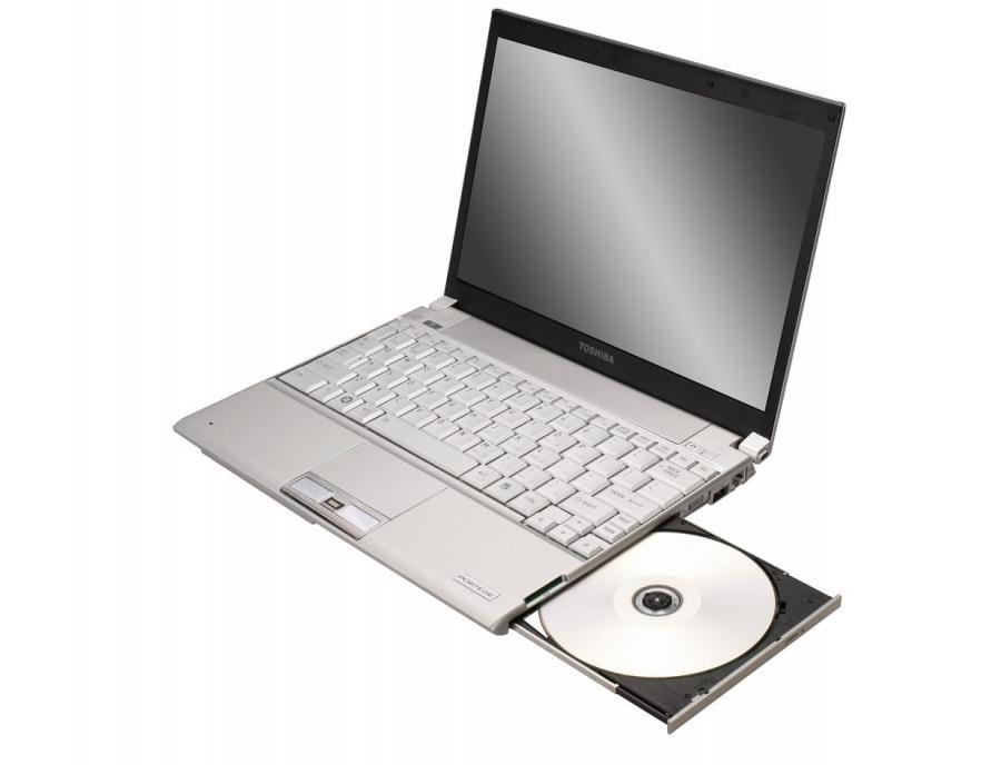 Pierwszy laptop dyskiem SSD 128GB