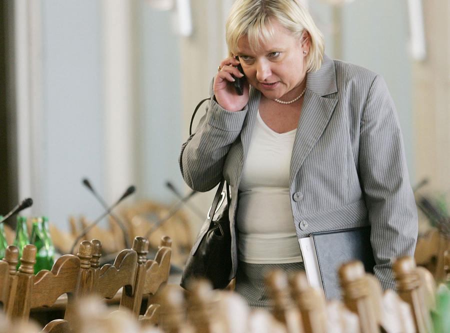 Beata Kempa zdenerwowała się, że posiedzenia komisji śledczej nie można oglądać w telewizji