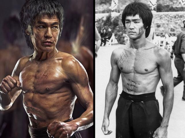 Legendarny mistrz sztuk walk Bruce Lee zmarł w wieku 33 lat. Dzięki zaawansowanej technice komputerowej możemy zobaczyć mistrza starego
