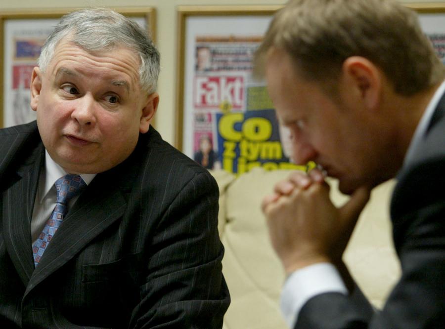 Jarosław Kaczyński do Donalda Tuska: Opanuj się!