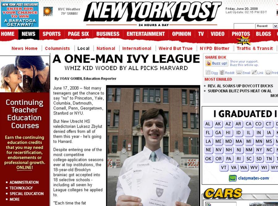 Młody Polak może wybierać wśród najlepszych uczelni USA