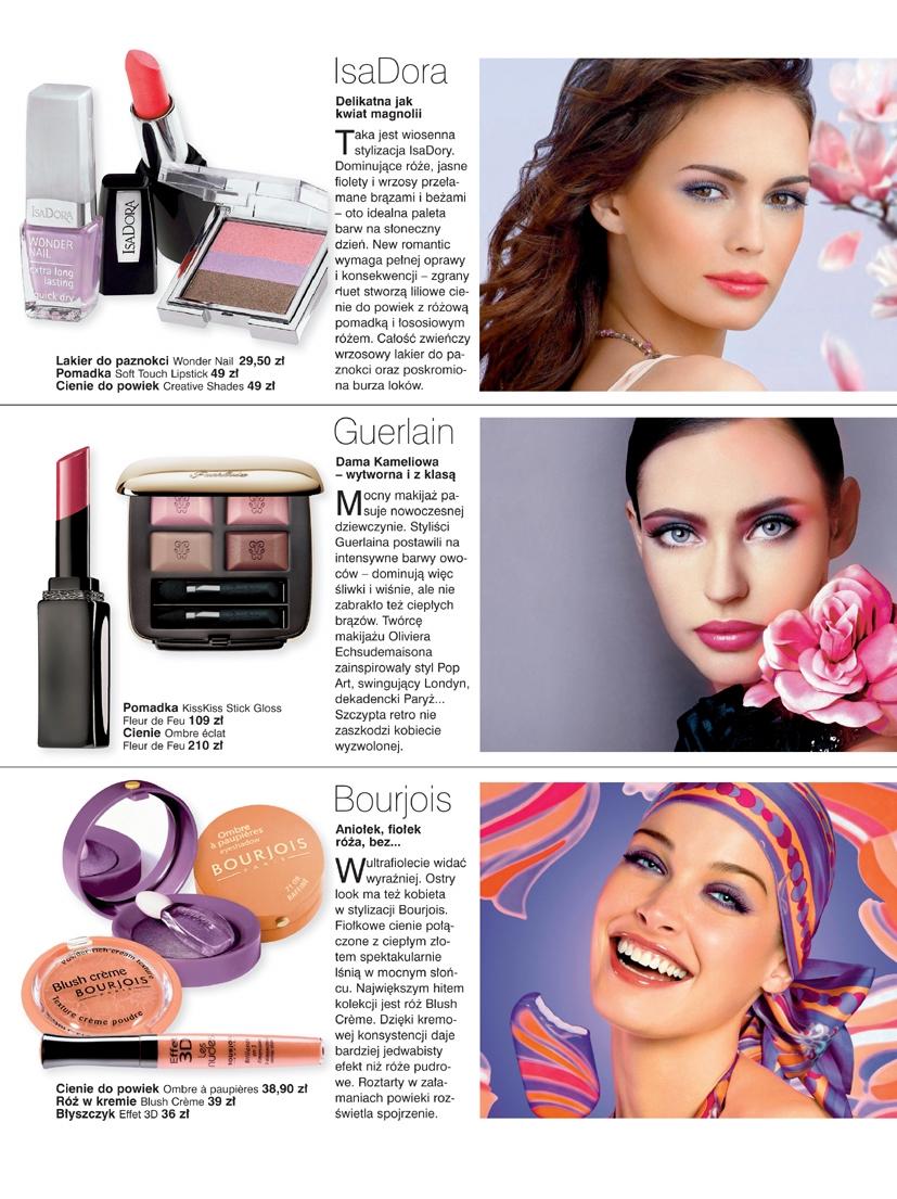 Modny makijaż wiosna - lato