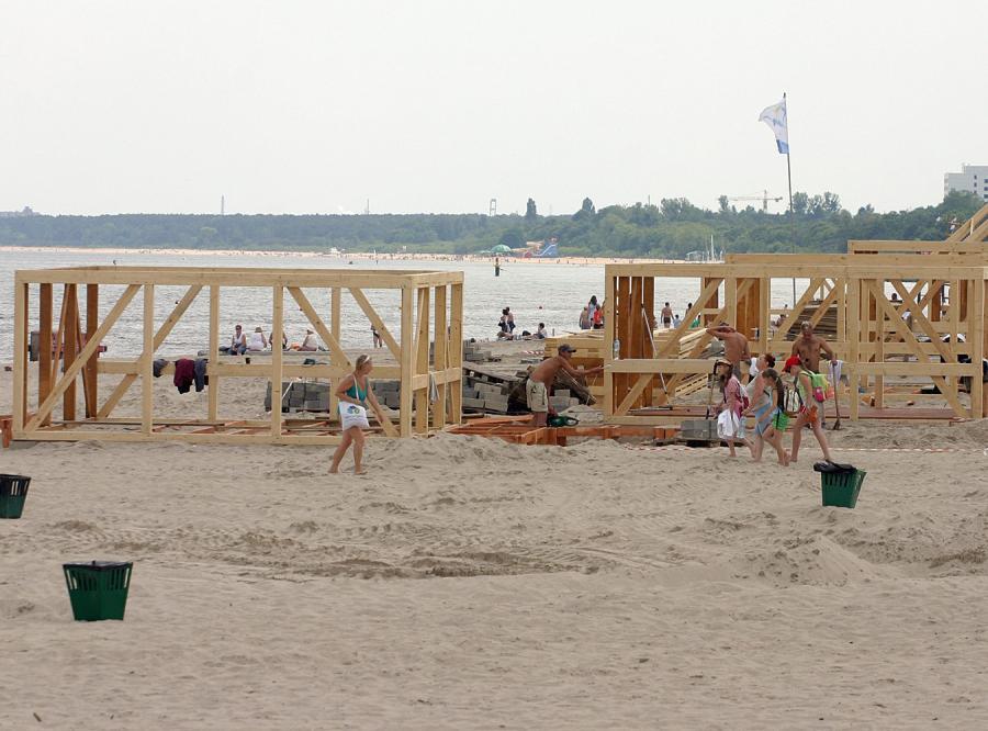 Nowość: część plaży w Sopocie jest płatna. Turyści nie kryją złości