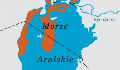 Zagłada Morza Aralskiego to wynik sowieckich eksperymentów rolniczych