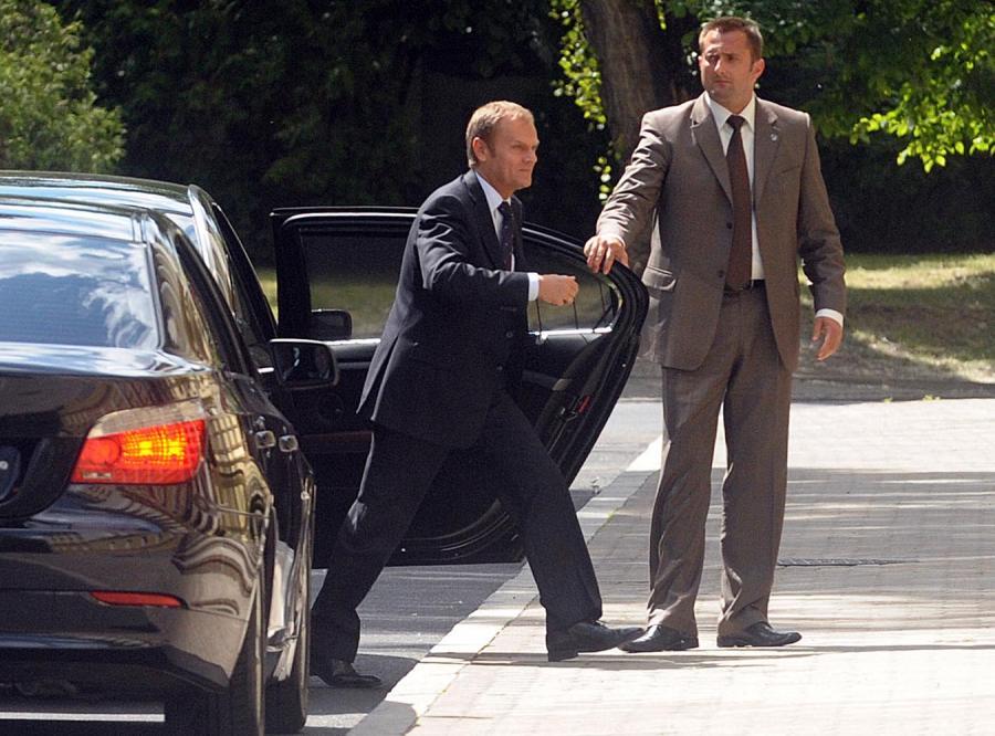 Tusk prezydentem, a Platformie spada