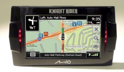 GPS Knight Rider dla miłośników Davida Hasselhoffa