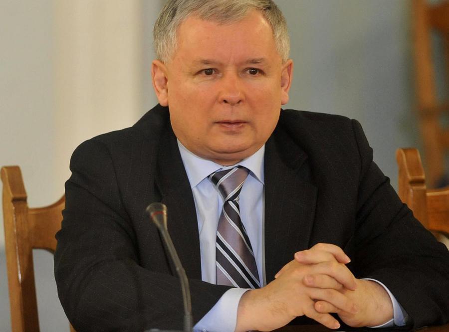 Jarosław Kaczyński: Tusk był za mały na Wałęsę