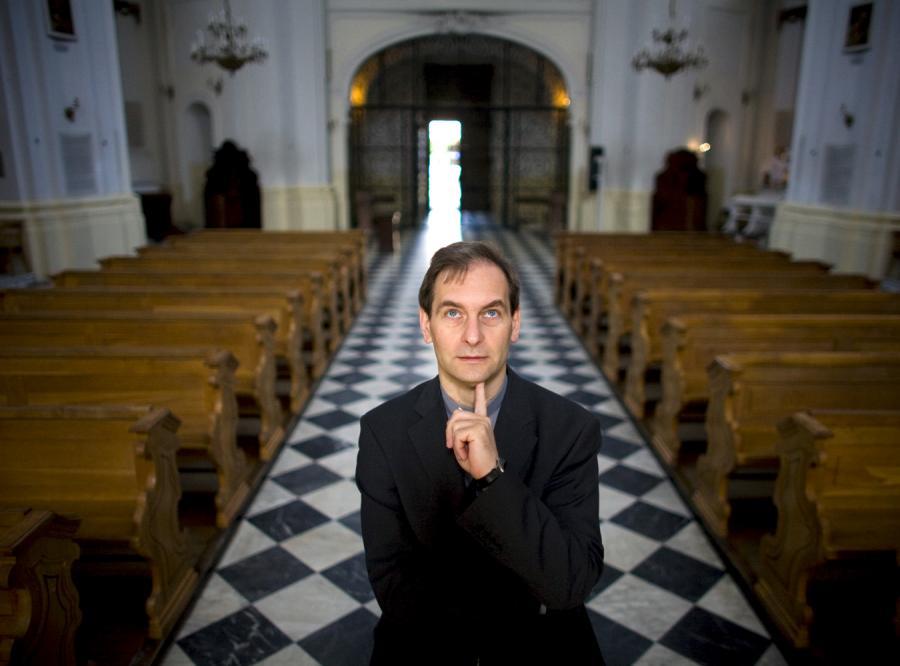Ksiądz profesor Piotr Mazurkiewicz dla DZIENNIKA