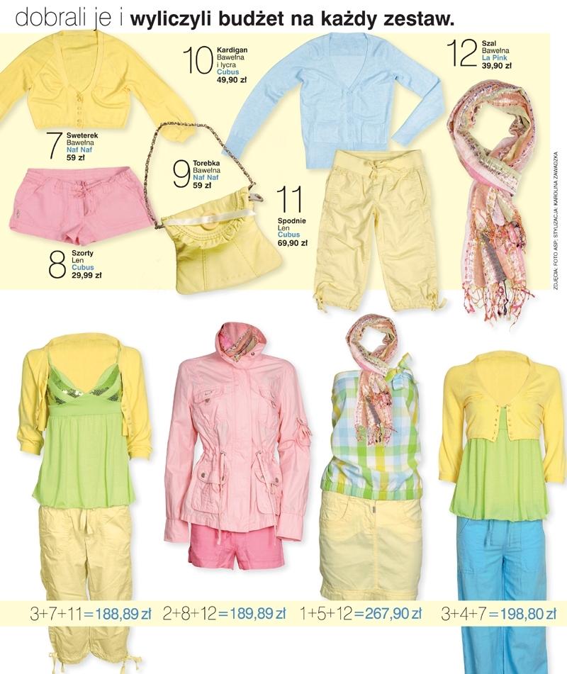 Specjalnie dla słodkich kobietek przedstawiamy 12 części garderoby w różnych cenach. Styliści B!NGO dobrali je i wyliczyli budżet na każdy z 8 zestawów.