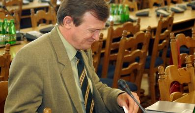 Poseł PiS Tadeusz Cymański nie zdał matury. Nie poradził sobie z egzaminem z WOS