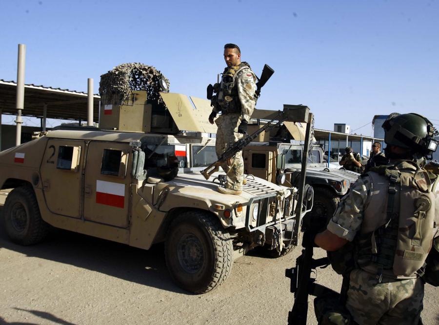 W Iraku przebywa obecnie dziesiąta, licząca około 900 żołnierzy, zmiana polskiego kontyngentu