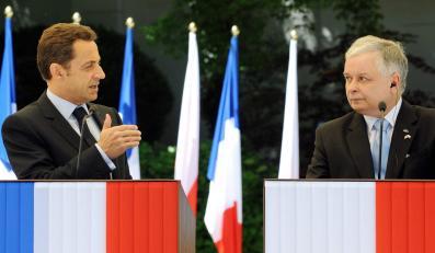 Lech Kaczyński przy pomocy Nicolasa Sarkozy'ego uratuje stocznie?