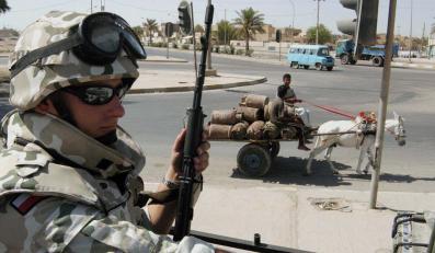 Polacy oddali iracką prowincję