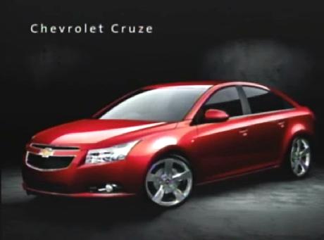 Koniec tajemnic! Taki będzie nowy Chevrolet Cruze