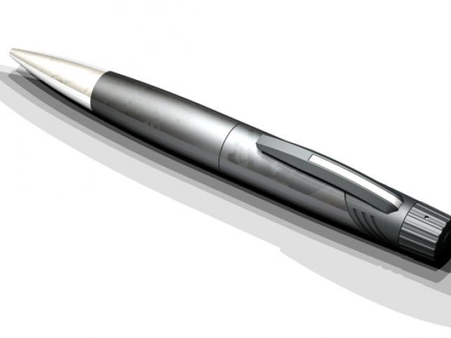 Cyfrowa kamera w długopisie