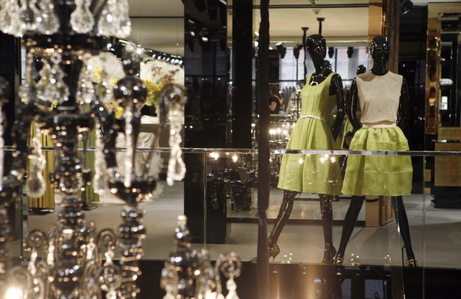 Otwarcie butiku D&G w Nowym Yorku