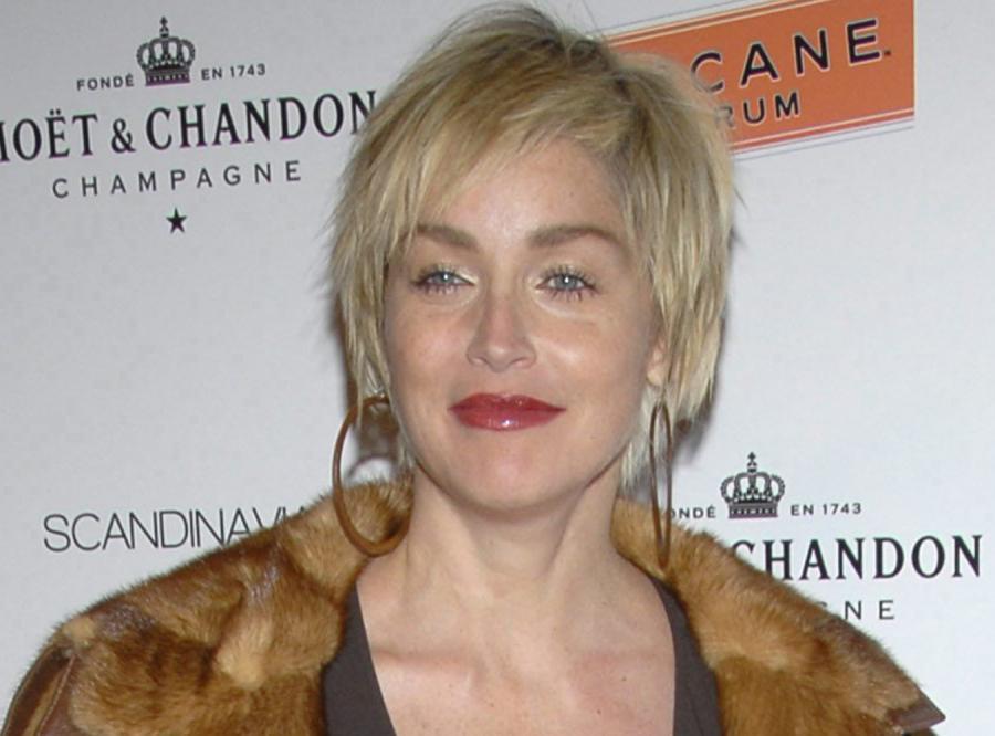 Sharon Stone i tajemnice jej dekoltu