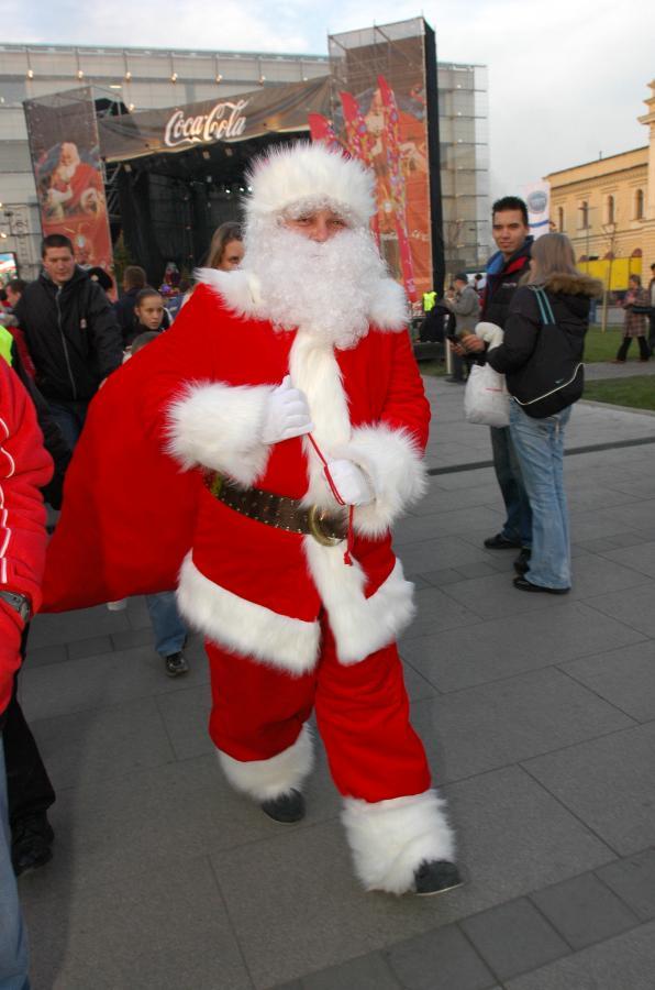 Trudno wyobrazić sobie taką imprezę bez Świętego Mikołaja