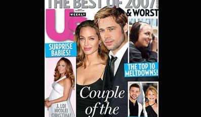 """""""US Weekly"""" ogłosił Angelinę Jolie i Brada Pitta parą roku"""